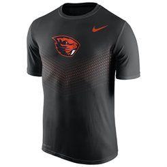 Men's Nike Black Oregon State Beavers 2015 Sideline Legend Dri-FIT  Performance T-Shirt