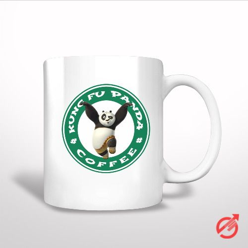 Sell Kung Fu Panda Dragon Warrior Po White Mug cheap and best quality. *100% money back guarantee