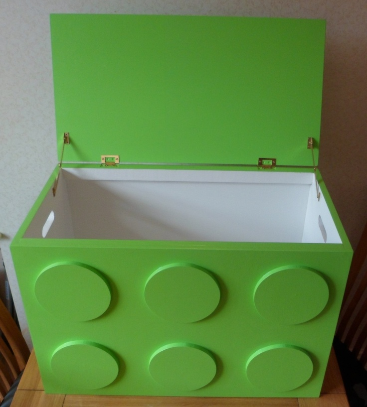 Matching toy box!