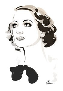 Joan Crawford by Christopher King