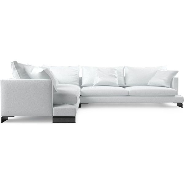 Lazytime Extra Large Corner Sofa ❤ liked on Polyvore featuring home, furniture and sofas