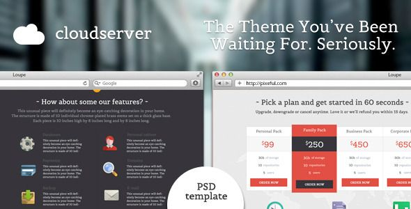 Review CloudServer - One Page Business / Hosting Templateonline after you search a lot for where to buy