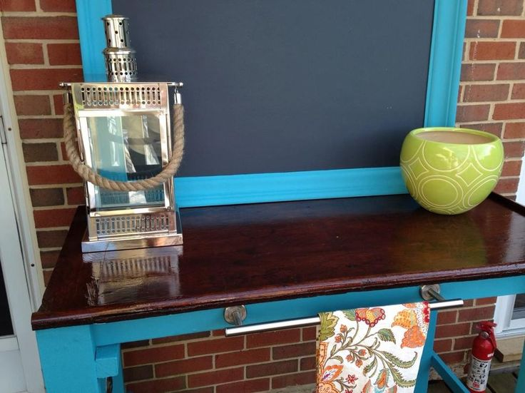 Outdoor Buffet and Grilling Station :: Hometalk