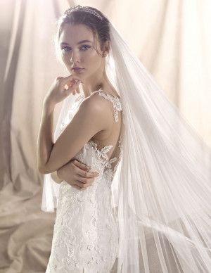 siena, abito da sposa stile sirena