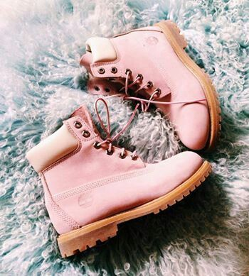 Pink Timberland Boots follow me on Pinterest@Luckkyme1