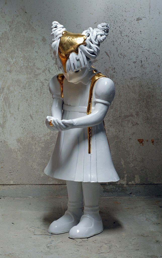 Mischievous Ceramic Children by Kim Simonsson | Hi-Fructose Magazine