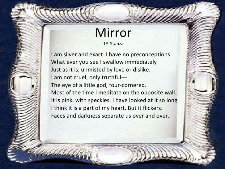 the best mirror sylvia plath ideas mirror by  mirror by sylvia plath 6 728 jpg 728×