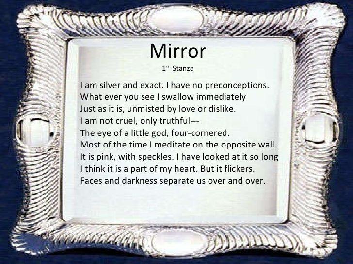 the best mirror sylvia plath ideas mirror by  mirror by sylvia plath 6 728 jpg 728×