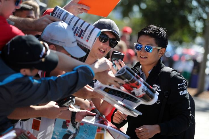 20.03.2016 - Rio Haryanto (IND) Manor Racing MRT05