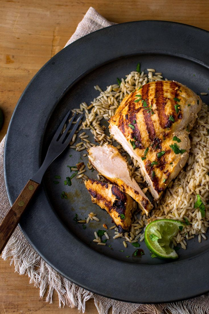 NYT Cooking: Here's a dead-simple weeknight meal that Mark Bittman came up with at the dawn of the century for fast tandoori chicken – chicken quickly marinated in yogurt and spices, then run under the broiler for less than 10 minutes. The whole process takes about an hour, but the active cooking time is around 20 minutes in total, and it makes for a delicious family meal when%...