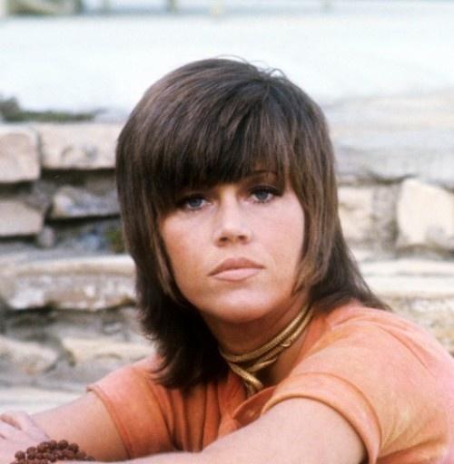 Fonda Shag Cut   jane fonda s original shag makeup hair
