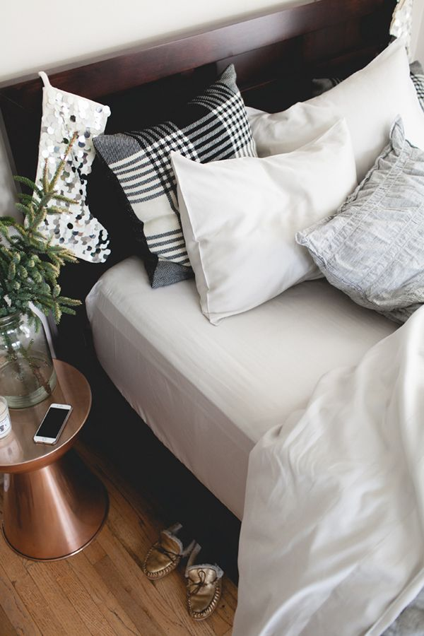 winter bedroom styling with parachute home bedding and coco+kelley