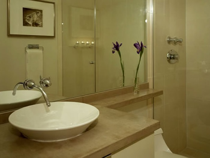 Donu0027t Let A Small Bathroom Put You In A Design Dilemma. These Small  Apartment Bathrooms Incorporate Smart And Stylish Storage Solutions With An  Effective ...