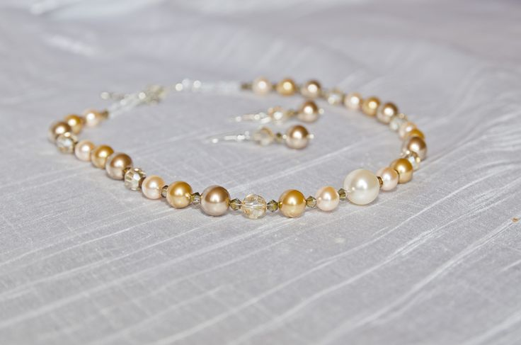 Shine on Brightly Swarovski pearls and crystals