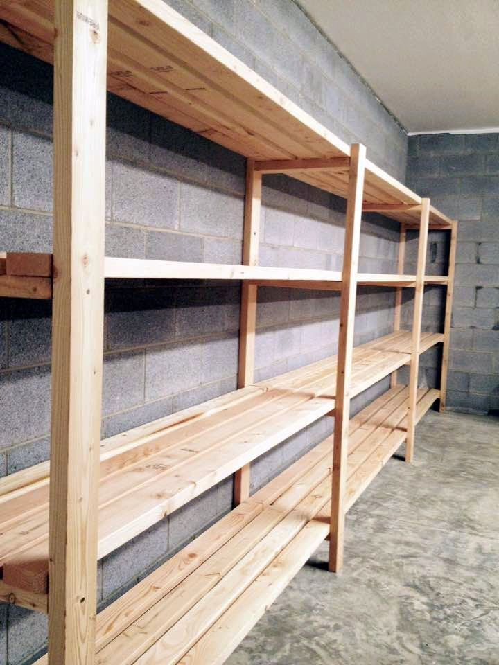Perfect Garage Storage Shelves Lowes To Refresh Your Home Garage