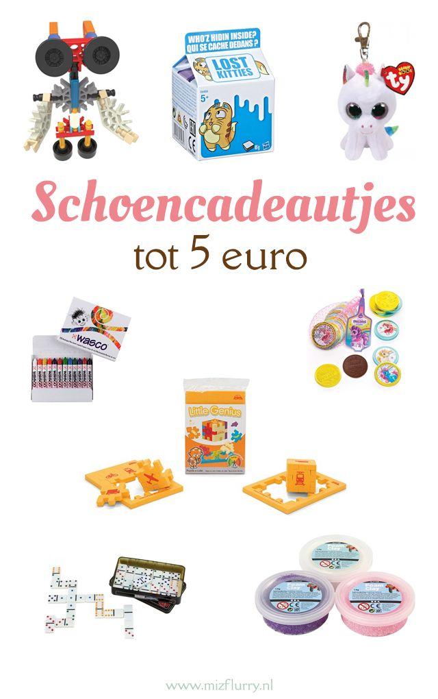 20 Schoencadeautjes Tot 5 Euro Sinterklaas Cadeautjes Ideas En Gifts