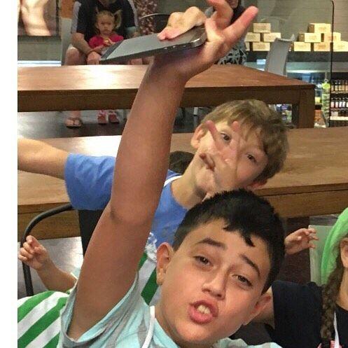 Boys excel in the kitchen so nurture their interest when they are young - #lifeskills #KidsCanCook