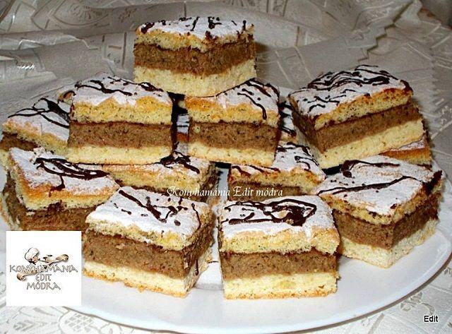 Emeletes diós, ha valami nagyon finom édességre vágysz! - Egyszerű Gyors Receptek