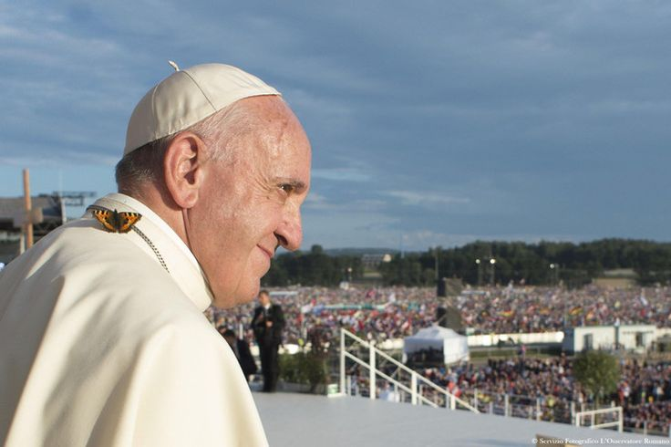 Najlepsze zdjęcia z wizyty papieża Franciszka w Polsce - Wiadomości