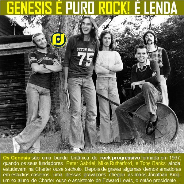 Genesis... É Rock! É Lenda