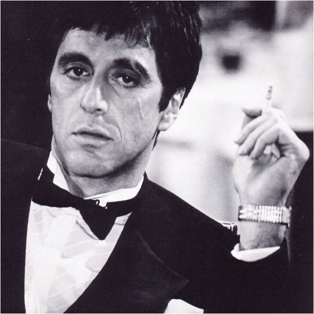 Scarface: Dust Jackets, Al Pacino, Dust Wrappers, Bows Ties, Bowtie, Alpacino, Scarface, Book Jackets, Dust Covers