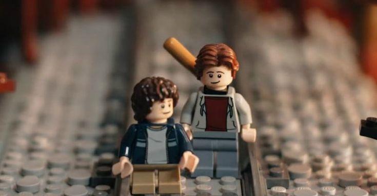 Lego 'Stranger Things' video re-creates season 2's best scenes