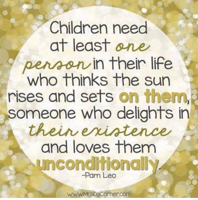 Children of all ages need this throughout their lives...and also need to know that's Our Father does too