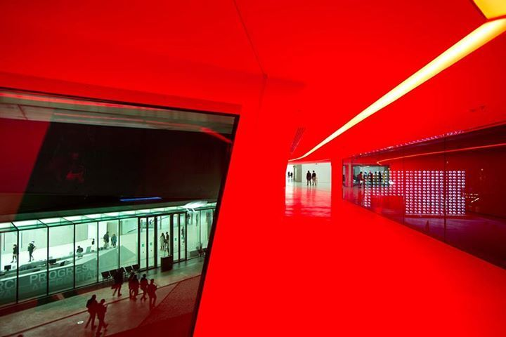 Maxxi gallery lights