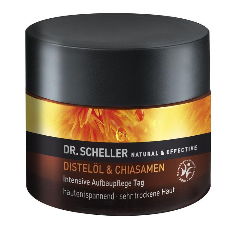 Dr. Scheller | Distelöl & Chiasamen Intensive Aufbaupflege Tag sehr trockene Haut