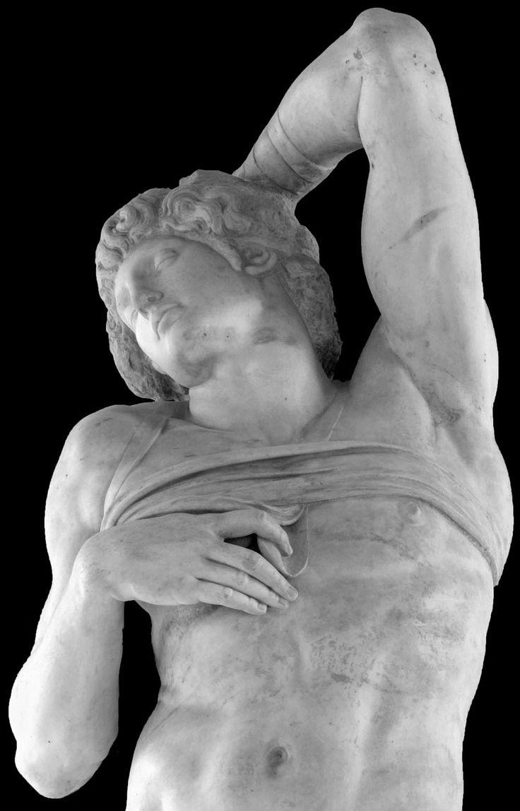 Michelangelo, Dying Slave, Louvre