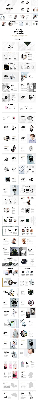 Poly Minimal #PowerPoint Presentation - Creative PowerPoint Templates