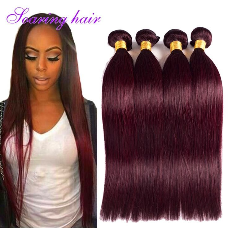 33 best 99j burgundy weave human hair images on pinterest curls 4 bundles burgundy weave 7a brazilian virgin hair straight color 99j burgundy weave straight fast deals pmusecretfo Image collections