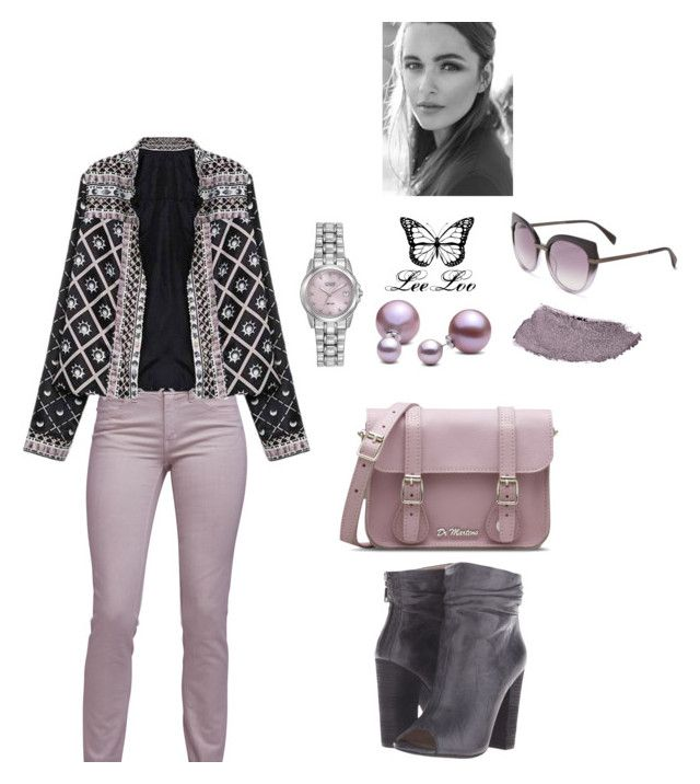 """54"" by leeloo1307 on Polyvore featuring мода, Just Cavalli, Dr. Martens, Allurez, Kristin Cavallari, Citizen, Marc by Marc Jacobs и Chanel"