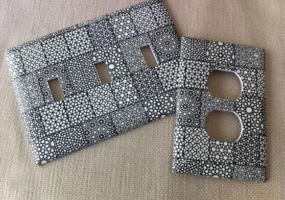 light switch decorative covers | diy