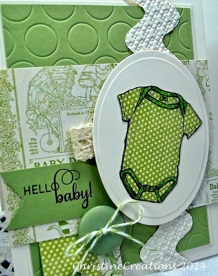 ChristineCreations: Hello Babies...
