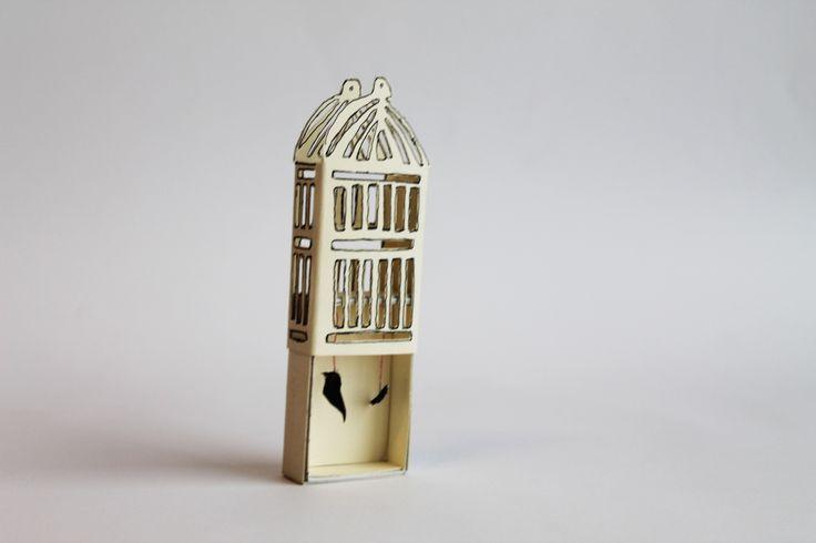 bird cage match box