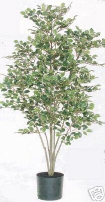Artificial birch tree silk 5 39 home decor plant bush for Artificial trees for home decoration
