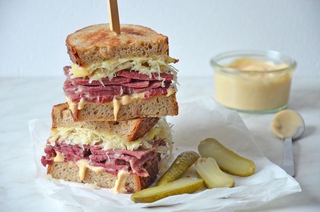 Kublanka vaří doma - Reuben sendvič