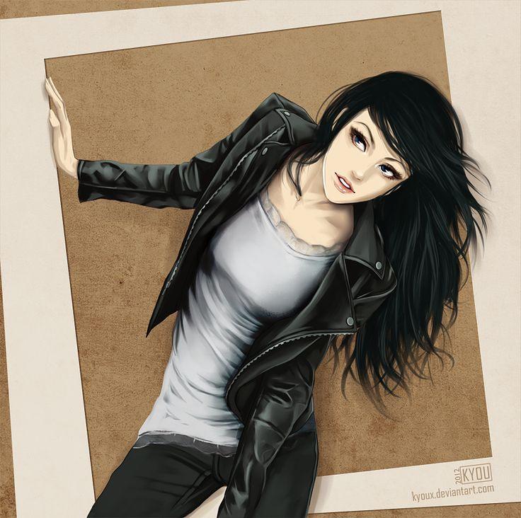 anime black hair ideas