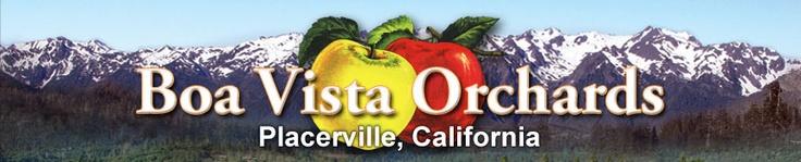 Boa Vista Orchards, Placerville, CA