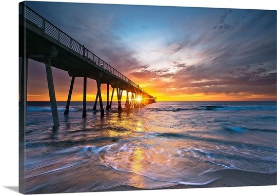 Manhattan Beach, California via @greatbigcanvas at GreatBIGCanvas.com.
