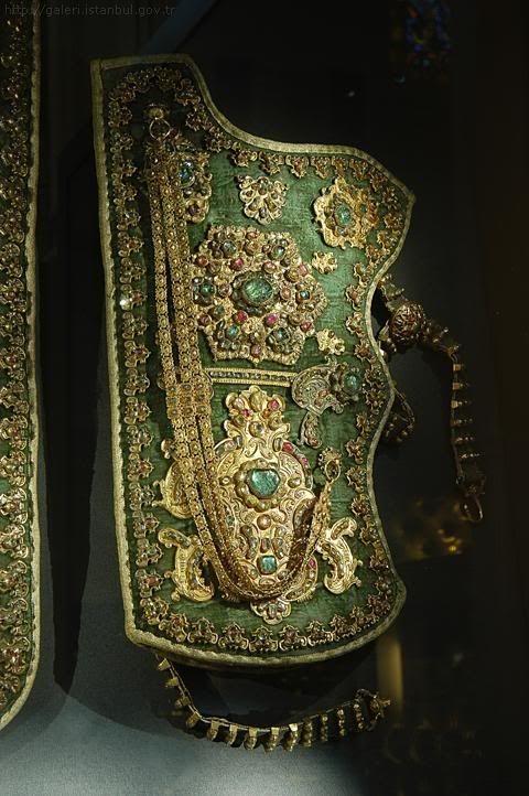 :::: PINTEREST.COM christiancross :::: Bow Sheath (?) (Ottoman Empire) (Topkapi Palace, Istanbul, Turkey)