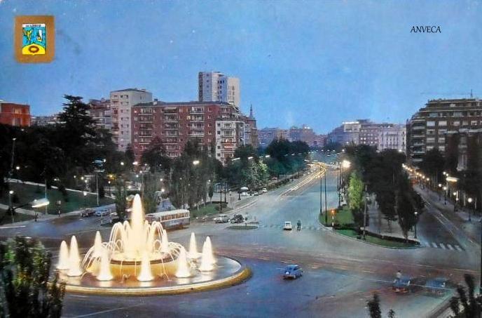 PLAZA DE SAN JUAN DE LA CRUZ - 1970