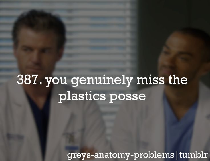 Grey's Anatomy Problems: Photo