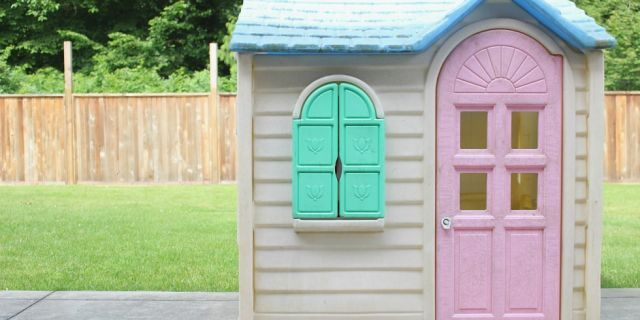 6 Really Clever Transformations of the Classic Little Tikes Playhouse  - CountryLiving.com
