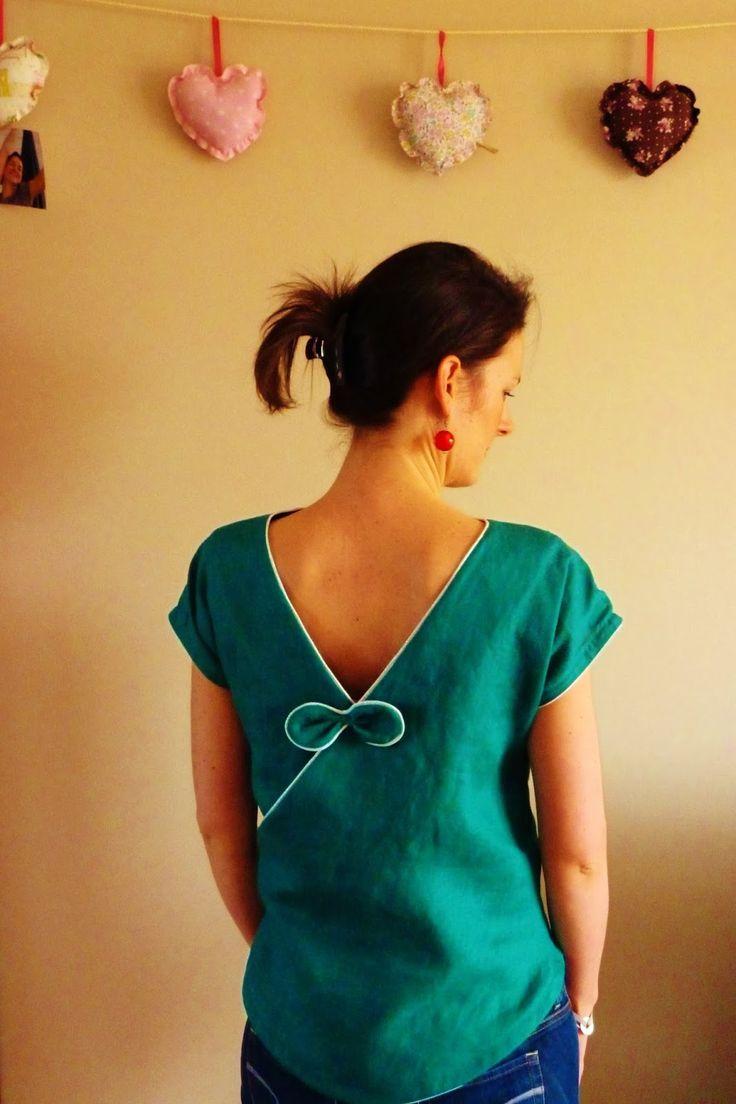 DIAMOND, version cintrée, Grains de Couture Hommes et Femmes, Ivanne SOUFFLET, by Le bazar d'Anne-Charlotte :
