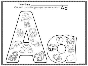LE VOCALI A, E, I, O, U (FREEBIE) - riconoscimento fonologico (cambiando i disegni per l'Italiano)
