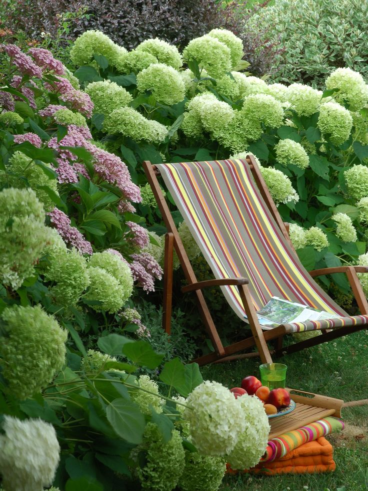 125 best images about hortensje on pinterest smooth for Annabelle chaise