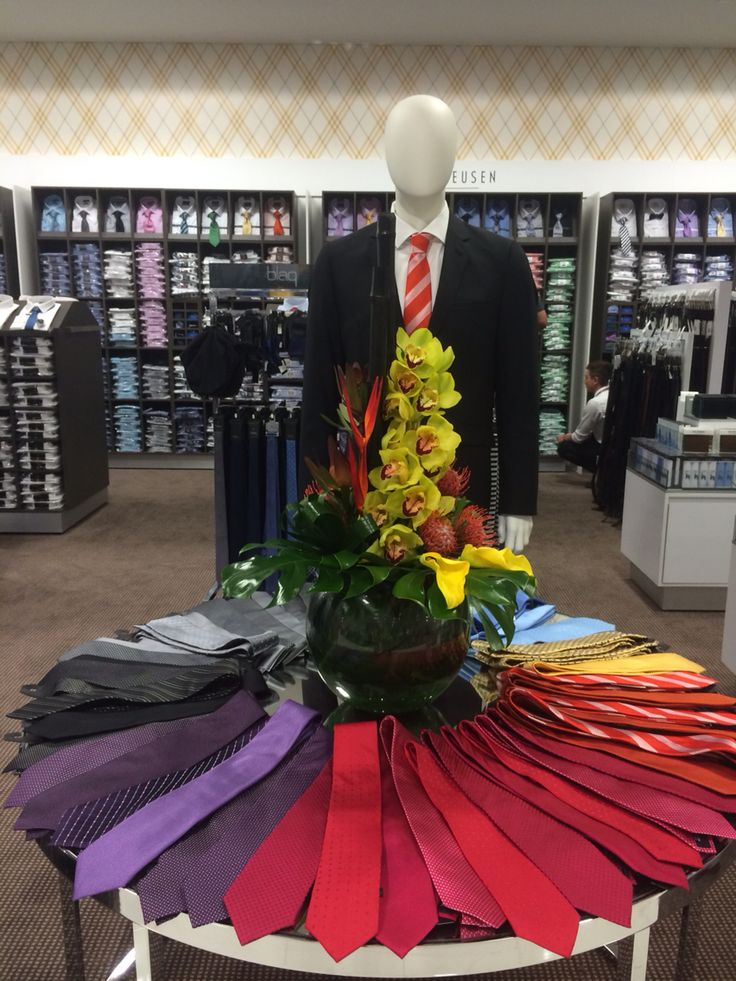 Corporate flowers for Myer