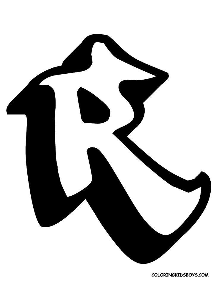 cool alphabet letters r Insrenterprises